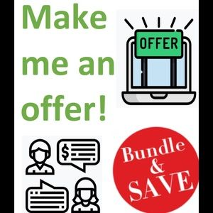 Other - Bundle and save 20%.  Or make me an offer!